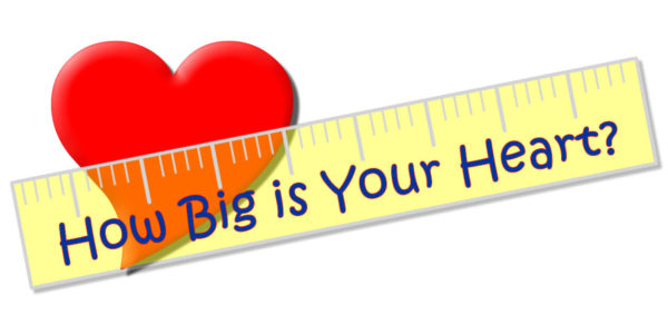 How Big is Your Heart Logo